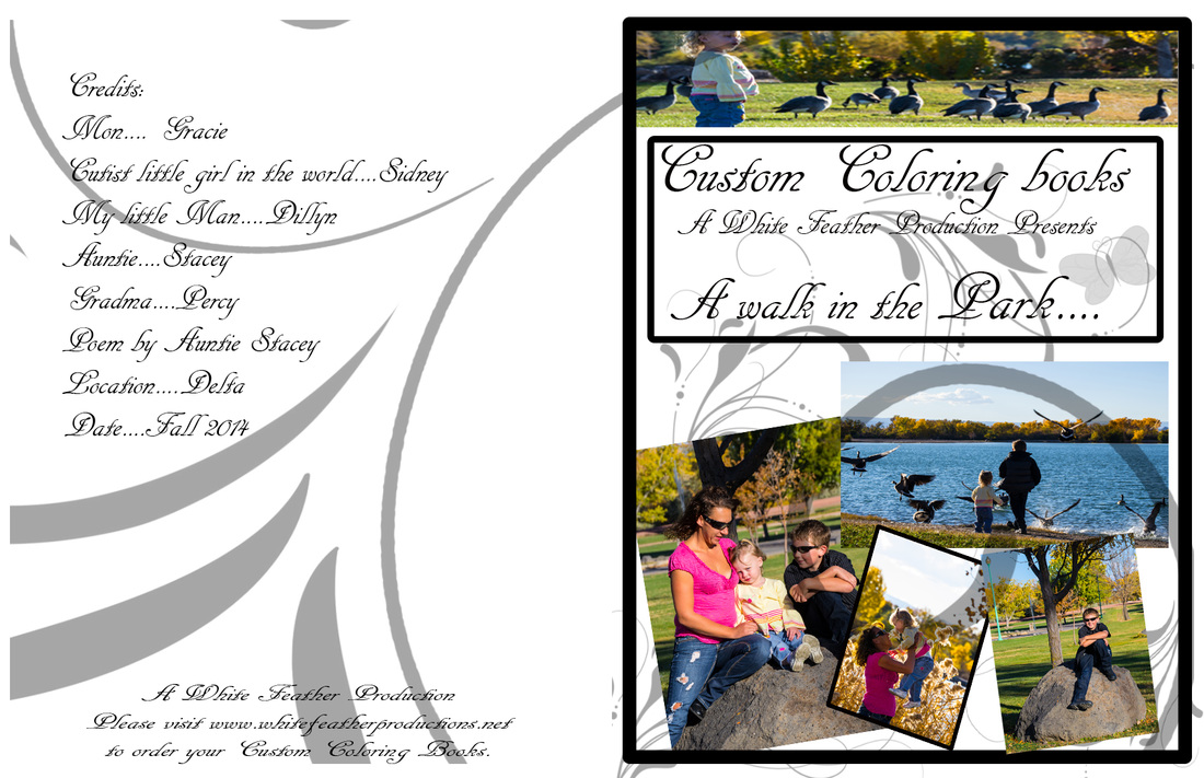 Cards and Custom Coloring books - White Feather Productions